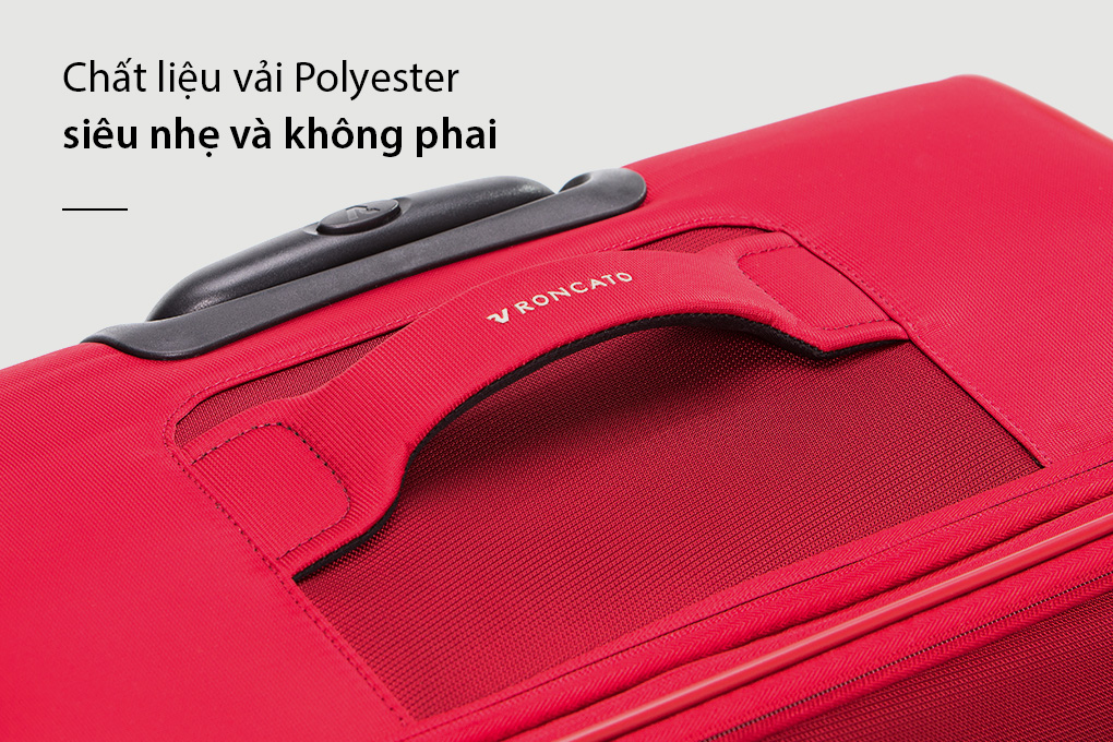 vali Roncato Speed size L (30 inch) - Rosso chất liệu