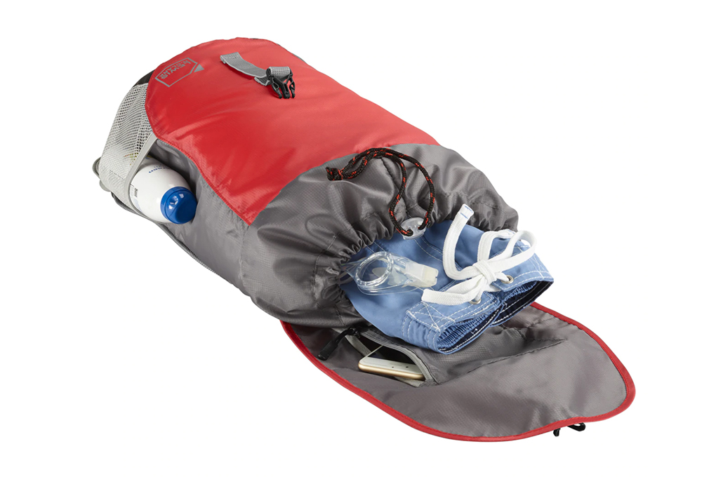 Balo Lewis Lightweight Day Pack - Red ngăn chứa tiện ích