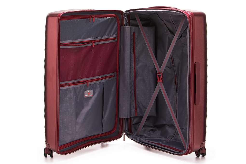 Vali Roncato Stellar size L (30 inch) - Rosso SC ngăn chứa tiện dụng